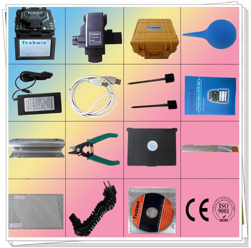 soudeuse de fibre optique brand techwin fiber splicing machine buy splicing machine soudeuse. Black Bedroom Furniture Sets. Home Design Ideas