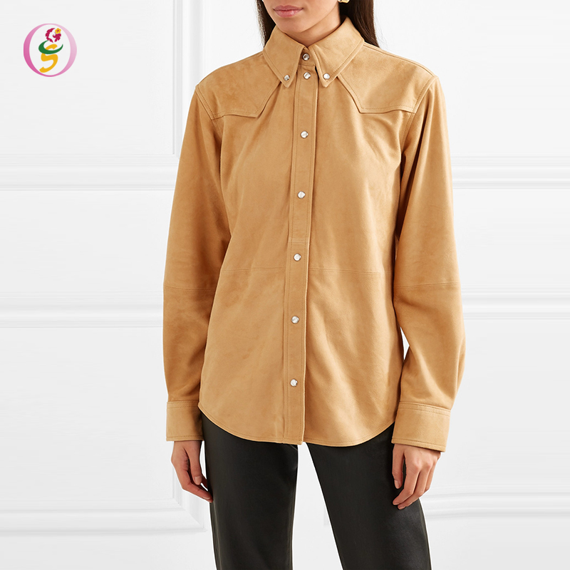Latest Design Women <strong>Cotton</strong> Long Sleeve Shirts Fashion Slim Fit <strong>Ladies</strong> <strong>Blouse</strong>