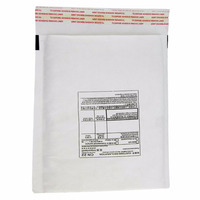 White kraft paper bubble lined packaging envelopes