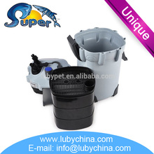 Hot selling Super aquatic HW-403B aquarium external filter for aquarium fish, with good quality