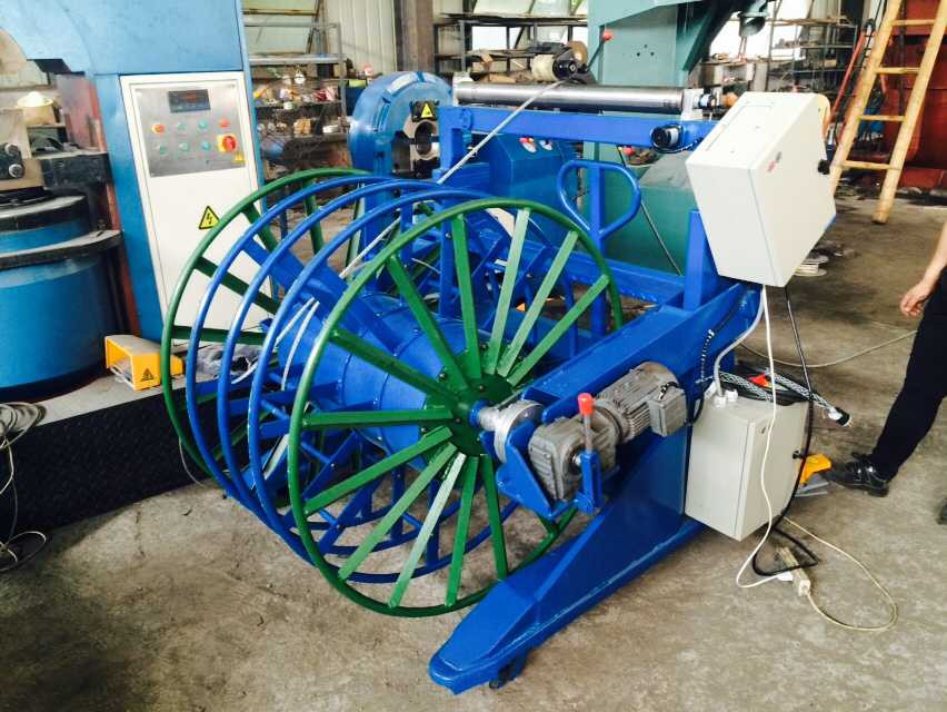 Wire Rope Spooling Coiling Machine With Measurement - Buy Automatic ...