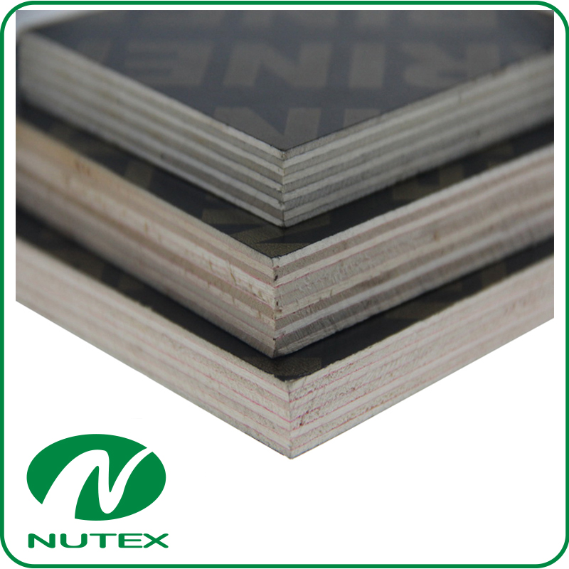 brown flim faced plywood for building construction from Linyi