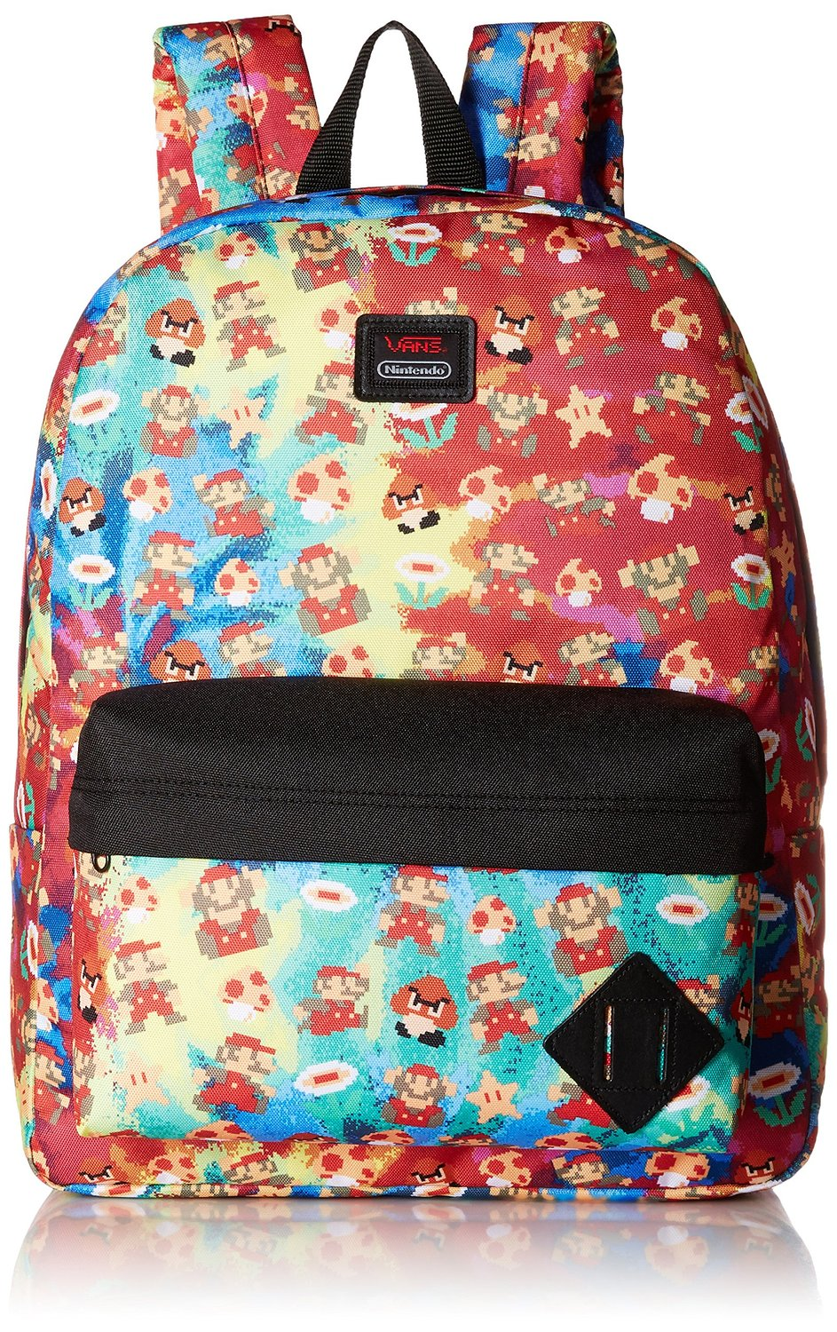 Vans mens OLD SKOOL II BACKPACK NINTENDO MARIO VN-0ONIKL3 - Mario