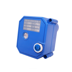 "2-way DC9-24V 3/4"" stainless steel motorized valve with manual override and position indicator for water leakage detector"