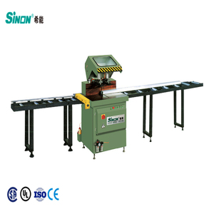 45 and 90 Degrees Angle Aluminium Window Door Single Head Cutting Machine for Sale