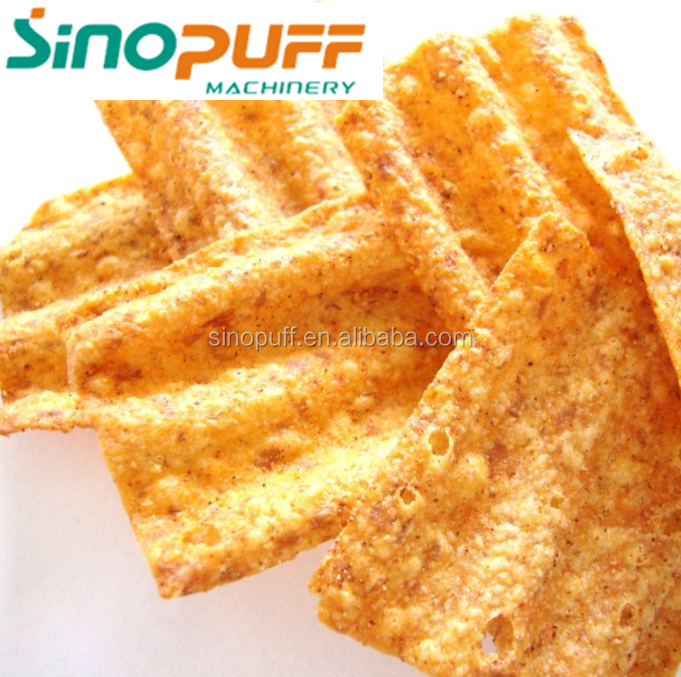 Brand New Sun Chips Machine Fried Wheat Flour Snack Extruder Buy