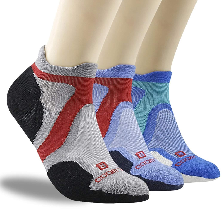 d9cd722262393 Get Quotations · Merino Wool Socks, ZEALWOOD Running Cycling Socks,Cushion  Hiking Socks,1/3