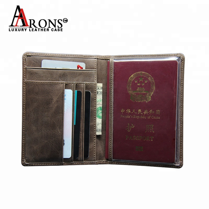 Factory price new style premium high quality smooth top card holder rfid credit card genuine leather wallet for men