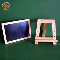 Mini Wooden Chalkboard with Easel Sign