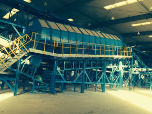 fully automatic municipal waste recycling plant Urban Garbage Sorting system