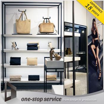 Special Design Handbag Ing Display Shelf And Rack