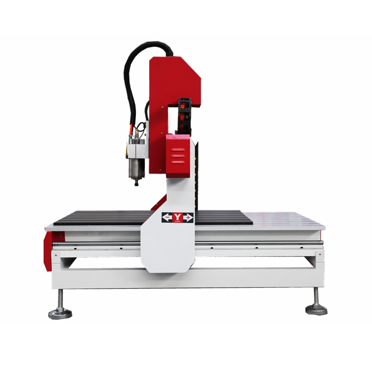 Heavy Duty Iron Cast Frame Mini CNC Machine With Rotary Axis Wood MDF Acrylic Plywood Desktop CNC Router 6090
