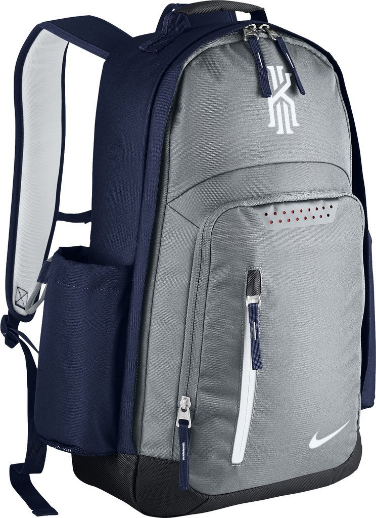 caf6f907af7b ... reduced nike mens kyrie backpack ba5133 012 wolf grey midnight navy  white f7c5d aafbf