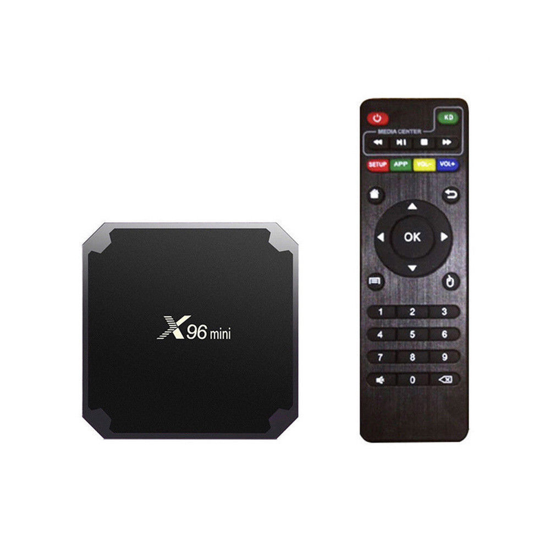 2019 Hot Groothandel Selling X96 Mini Amlogic S905w Smart Android Tv Box 2.4G Wifi Set Top Box 1 GB 8 GB Met OEM