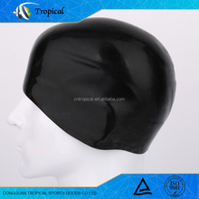 Cheap wholesales silicone material waterproof swimming cap