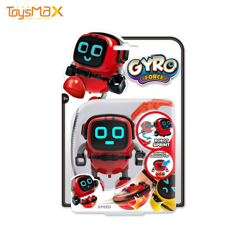 2019 Novelty Toy Gyro Xiaobao Robot Three-in-one Stunt Spinning gyro Educational Toys
