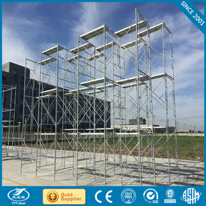 Carbon Steel used layher scaffolding Tianjin machinery