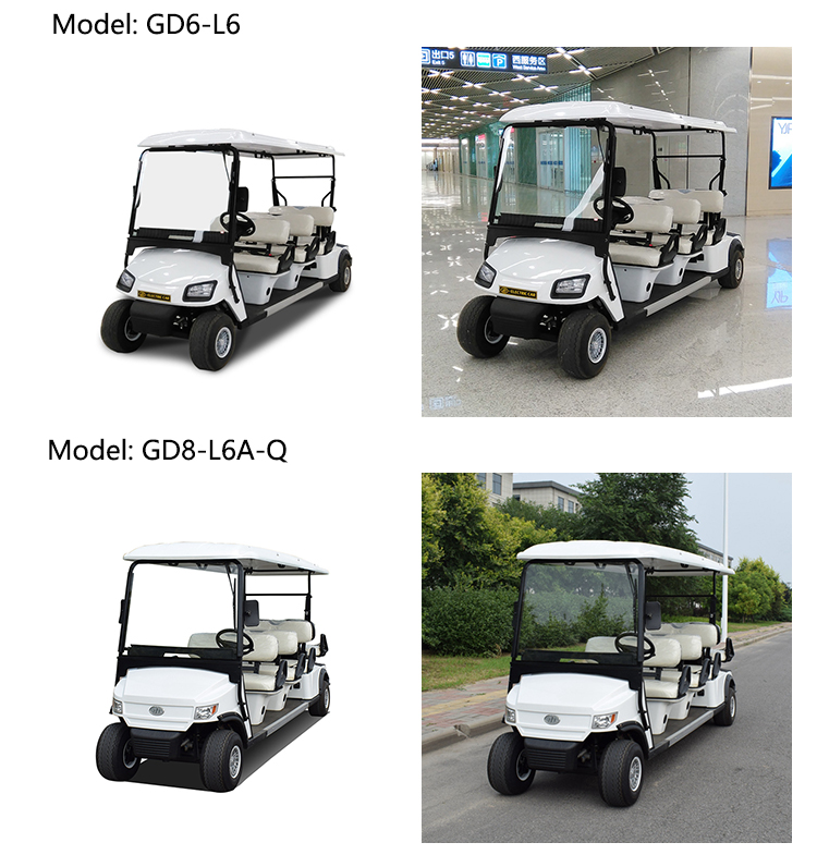 Chinese factory price electric vintage car classic car golf cart club classic car