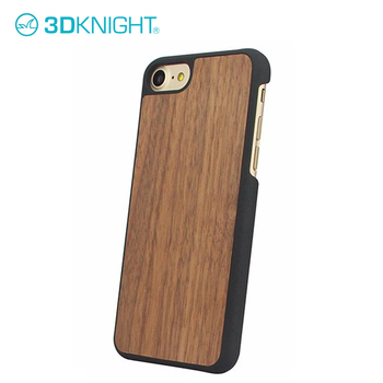 Natural Walnut Wood guangzhou mobile phone shell for iPhone 7 7plus