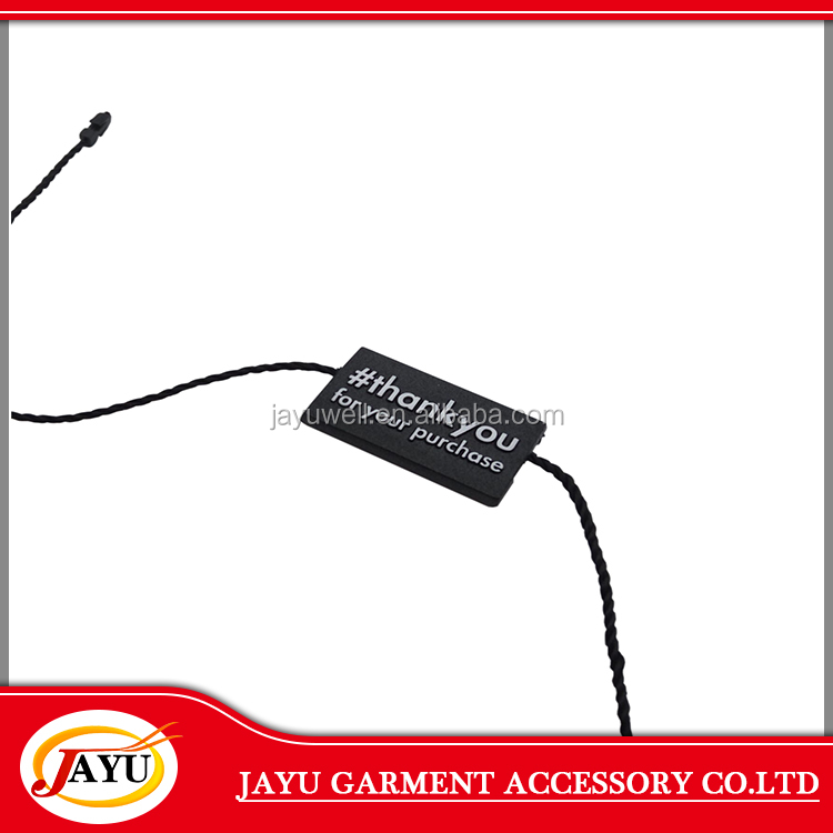 Garment swing tag use custom hang tag in plastic made In Mainland China