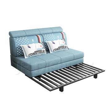 2018 New Simple Cum Bed Metal Stainless Steel Frame Sofa Bed Buy
