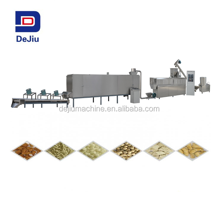 best price Soy meat processing line/Texture Soya Beans Nuggets Protein Food Machines