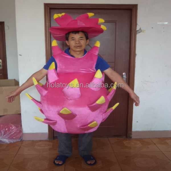 Hola lively fruit avocado mascot costume for sale