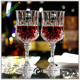 Eco-Friendly Goblet Red Wine Glasses 160ml 230ml Black Champagne Glass