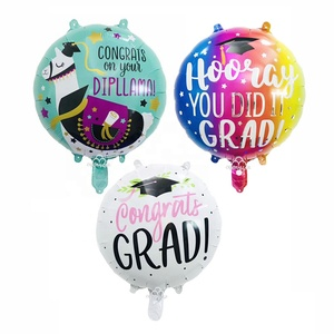 2019 new design Inflatable graduation balloon foil mylar graduate congrats balloon