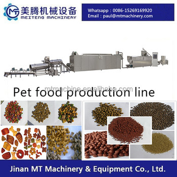 Various capacity floating fish feed pellet machine
