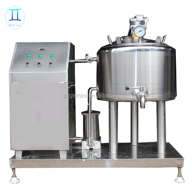 low price Electric,Steam,Gas small batch milk pasteurizer machine for for fruit juice , yogurt , soy milk