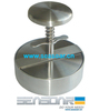 stainless steel burger press with spring
