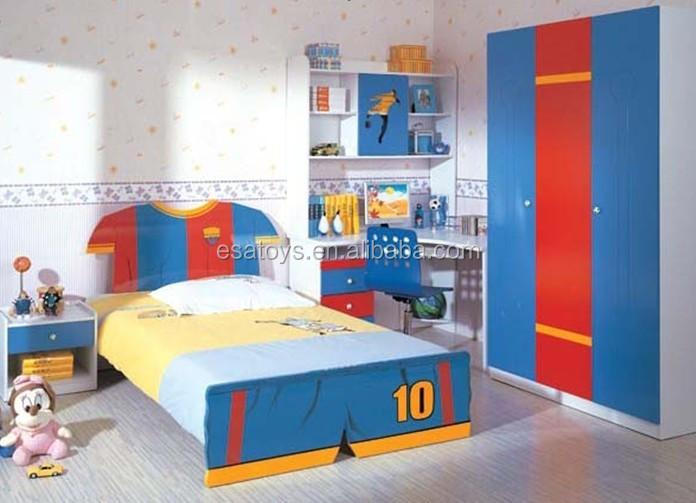 juguete de madera casa de juego de juego de dormitorio