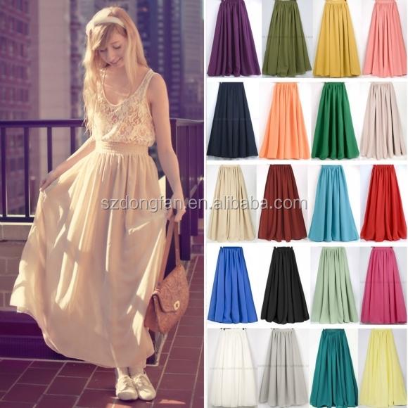 Latest Long Skirt Design 2016 New Arrival Fashion Designs Elegant ...