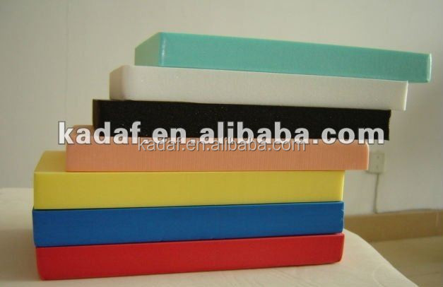 high density foam padding sheets /board own factory