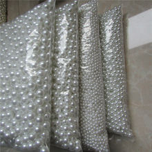 White ABS No holes pearl Bead For DIY originality handwork material