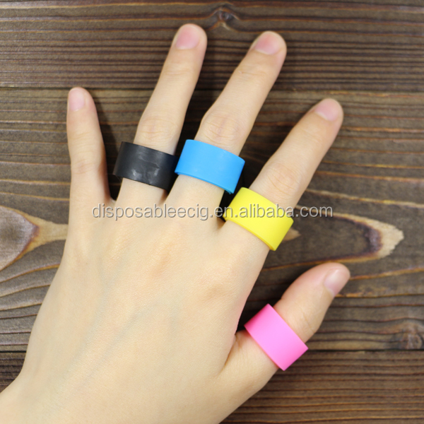 High Performance Custom Stretched Finger Rings Silicone
