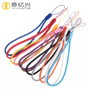 Custom Cheap Wrist Hand Round String Nylon Lanyard From China