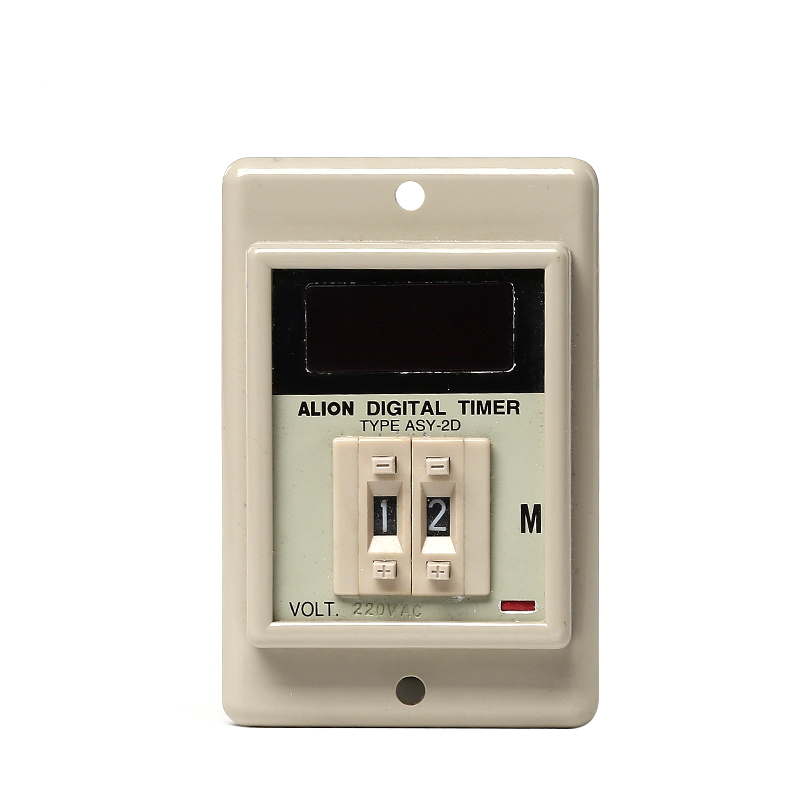 ASY-2D Custom mini digital led timer, electrical socket timer