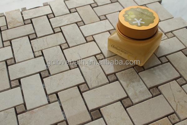 Badkamer Vloertegels Antislip : Antislip keuken vloertegel steen mozaïek en badkamer zelfklevende