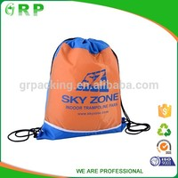 Manufacturers supply variety specifications customized gym bag drawstring