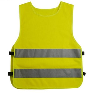 high reflective children wear colorful traffic safety vest for kids