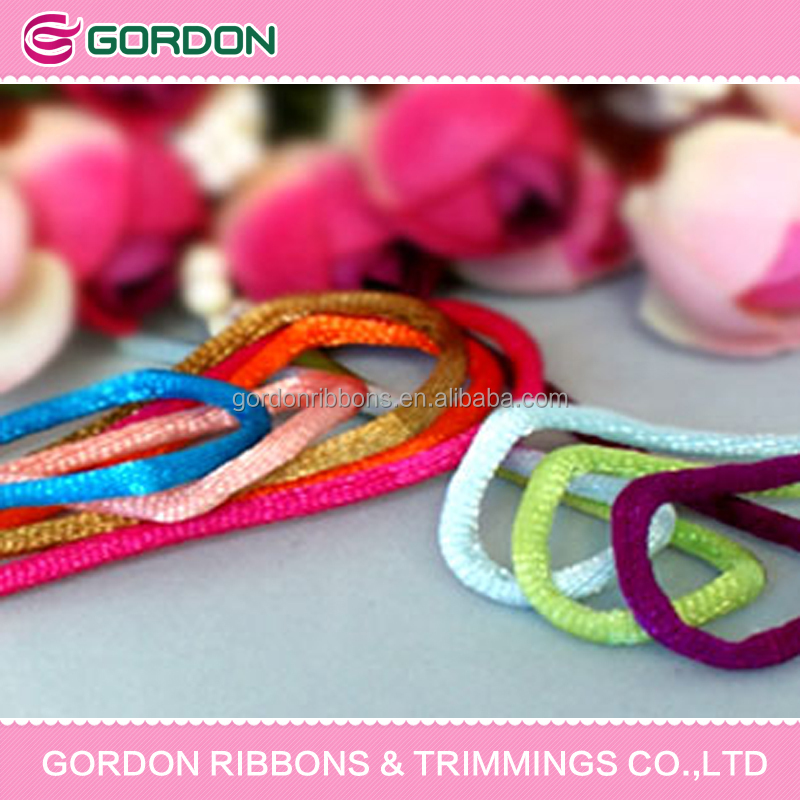 chinese knot ribbon,nylon cord 2mm,solid nylon cord