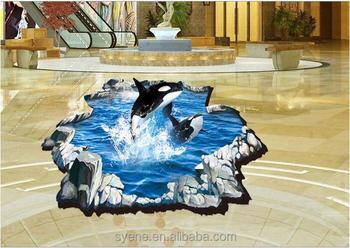 Siene cartone animato animale effetto d creativo dolphin adesivo