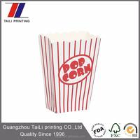popcorn paper cup,popcorn paper cone cups