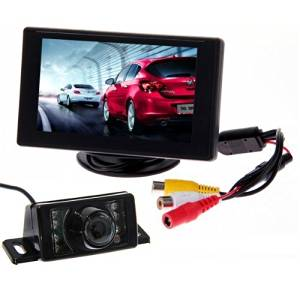 Consumer Electronics 4-way Video Car Switch Parking Camera 4 View Image Split-screen Control Box Kits Elegant In Style