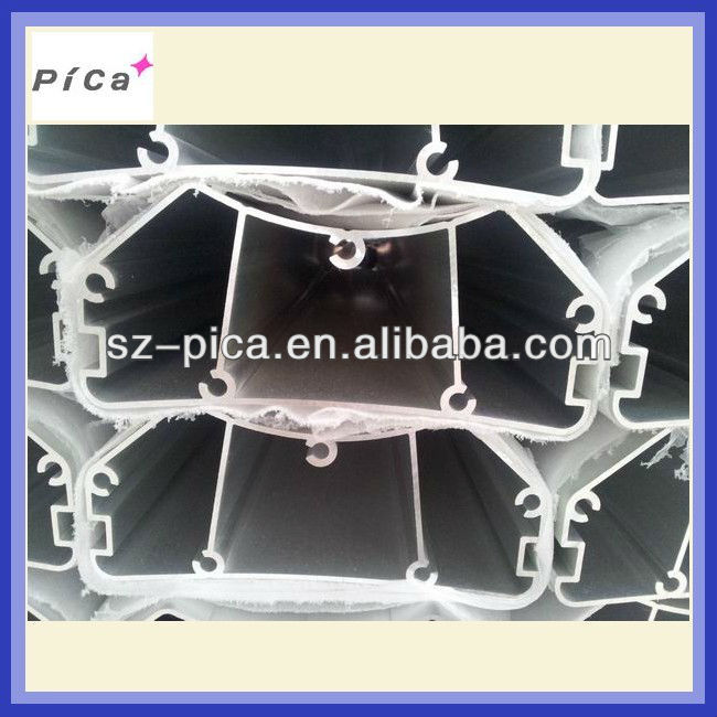 Hexagonal aluminum extrusion profiles