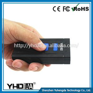 YHDAA 300scans/sec Hd Camera Portable Barcode Scanner With Memory