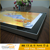 18mm Ultrathin Slim LED Backlit Magnetic Easy Open LED Advertising Frame Magnetic Advertising LED Light Frame