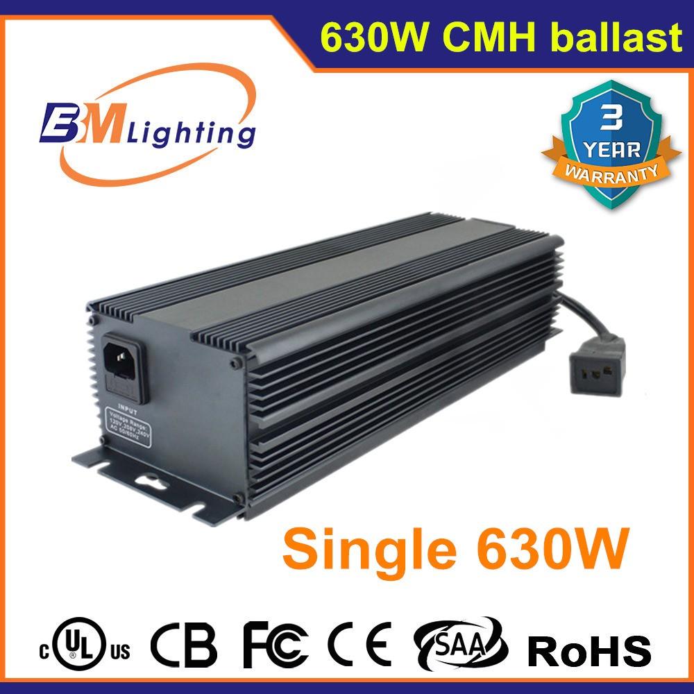 hydroponic dual 2*315w 630w cmh ballast better than 1000 watt hps ...